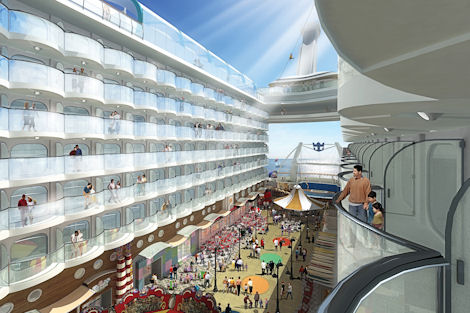 Vacations Magazine: Meet the Oasis of the Seas