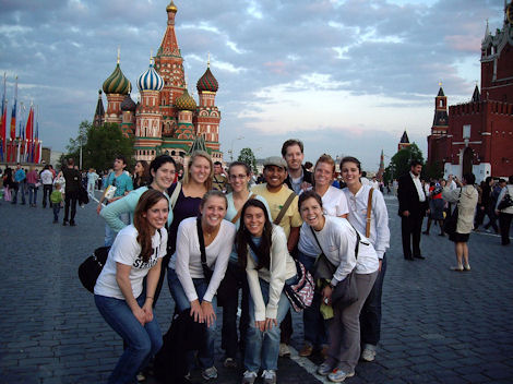 Vacations Magazine: Volunteer Vacation in Moscow